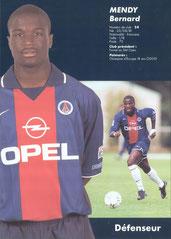 2000-01 - MENDY Bernard