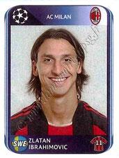 N° 429 - Zlatan IBRAHIMOVIC (2010-11, Milan AC, ITA > 2012-??, PSG)