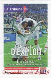 Programme  Lyon-PSG  2015-16