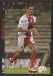 Andre LUIZ (2002-03, PSG > 2005-06, Ajaccio)