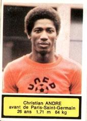 N° 209 - Christian ANDRE