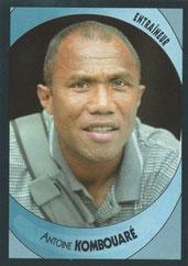 Antoine KOMBOUARE (1990-95, PSG > 2003-04, Entraîneur Strasbourg > 2009-11, Entraîneur PSG)