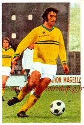 N° 121 - Claude ARRIBAS (1971-72, PSG > 1972-73, Nantes)