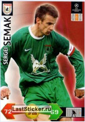 N° 289  - Sergei SEMAK (2004-06, PSG > 2009-10, Rubin Khazan, RUS)