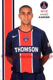 KANTARI Ahmed  05-06