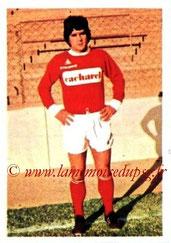 N° 143 - Jacky NOVI (1973-74, Nîmes > 1974-77, PSG)