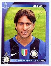 N° 303  - MAXWELL (2008-09, Iner Milan, ITA > Jan 2012-??, PSG)