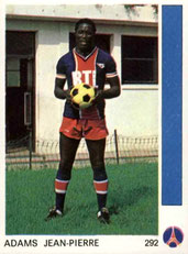 N° 292 - Jean Pierre ADAMS