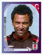 N° 085 - Edouard CISSE (1997-07, PSG > 2007-08, Besiktas, TUR)
