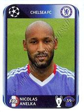 N° 359 - Nicolas ANELKA (1995-97 et 2000-02, PSG > 2010-11, Chelsea, GBR)