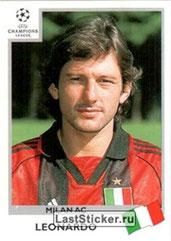 N° 301 - LEONARDO (1996-Août 97, PSG > 1999-00, Milan AC, ITA > 2011-13, directeur sportif du PSG)