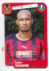 N° 289 - Sammy TRAORE (2004-05, Nice > 2006-11, PSG)