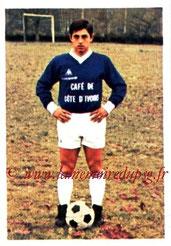 N° 035 - Alain GIRESSE (1973-74, Bordeaux > Juil à Déc 98, Entraîneur du PSG)