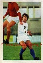 N° 114 - Jacky NOVI (1971-72, Marseille > 1974-77, PSG)