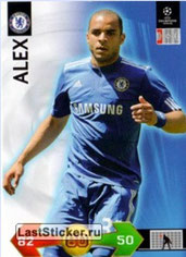 N° 044 - ALEX (2009-10, Chelsea, GBR > Jan 2012-??, PSG)