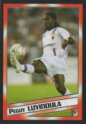 Péguy LUYINDULA (2004-05, Lyon > 2007-??, PSG)