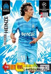 N° 177 - Gabriel HEINZE (2001-04, PSG > 2010-11, Marseille)