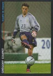 Grégory COUPET (2005-06, Equipe de France > 2009-11, PSG)