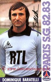 BARATELLI Dominique  82-83