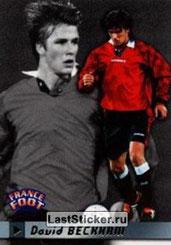 N° 275 - David BECKHAM (Manchester Unitedl, ANG)