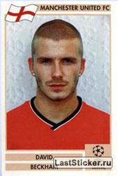 N° 123 - David BECKHAM (2000-01, Manchester United, ANG > Jan 2012-??, PSG)