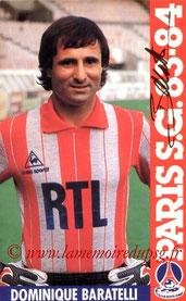 BARATELLI Dominique  83-84