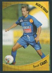 Benoît CAUET (1996-97, PSG > 2003-04, Bastia)