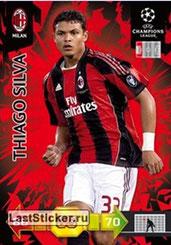 N° 195 - Thiago SILVA (2010-11, Milan AC, ITA > 2012-??, PSG)