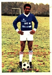 N° 044 - Jean-Pierre TOKOTO (1973-74, Bordeaux > 1975-78, PSG)