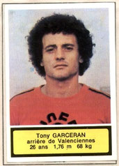 Antoine GARCERAN (1975-76, Valenciennes > 1979-81, PSG)