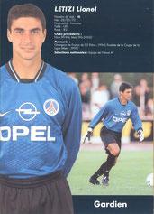 2000-01 - LETIZI Lionel