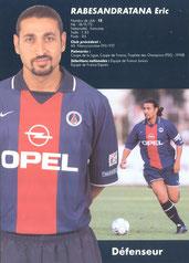 2000-01 - RABESANDRATANA Eric