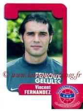 N° 414 - Vincent FERNANDEZ (1996-98, PSG > 2004-05, Chateauroux)