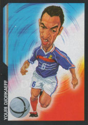 Youri DJORKAEFF (1995-96, PSG > 2005-06, Equipe de France)