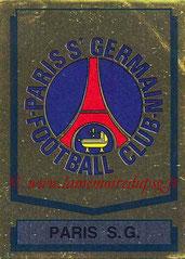 N° 298 - Logo PSG - Vache Picon (Recto)