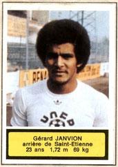 Gérard JANVION (1975-76, Saint-Etienne > 1983-85, PSG)
