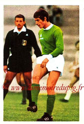 N° 226 - Jean-Michel LARQUE (1972-73, Saint-Etienne > 1977-79, Entraîneur / joueur au PSG)