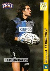 N° 225 - Vincent FERNANDEZ (Sochaux)