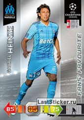 N° 189 - Gabriel HEINZE (2001-04, PSG > 2010-11, Marseille) (Fan's Favourite)