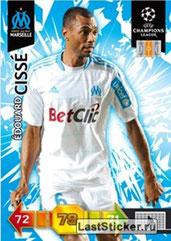 ° 182 - Edouard CISSE (1997-07, PSG > 2010-11, Marseille)