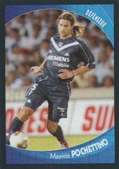 Mauricio POCHETTINO (2000-03, PSG > 2003-04, Bordeaux)