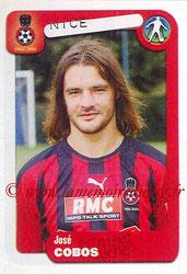 N° 287 - José COBOS (1993-96, PSG > 2004-05, Nice)