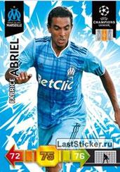 N° 186 - Fabrice ABRIEL (1999-01, PSG > 2010-11, Marseille)