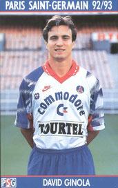 GINOLA David  92-93