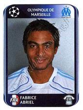 N° 369 - Fabrice ABRIEL (1999-01, PSG > 2010-11, Marseille)