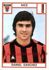 N° 206 - Daniel SANCHEZ (1975-76, Nice > 1981-82, PSG)