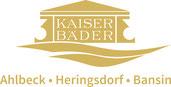 Logo der Firma Käiserbäder auf Usedom
