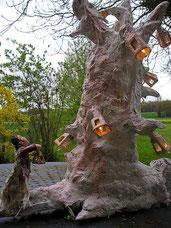 arbres création papier
