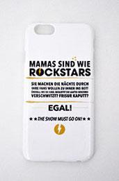 """Handyhülle """"Mamas sind wie Rockstars"""" kaufen!"""