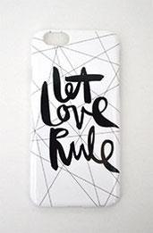 "Handyhülle ""let love rule"" kaufen"